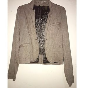 Roxy tweed blazer, worn one time
